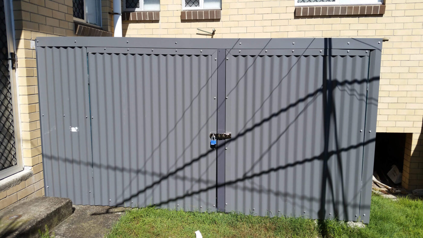Outdoor Storage Cages