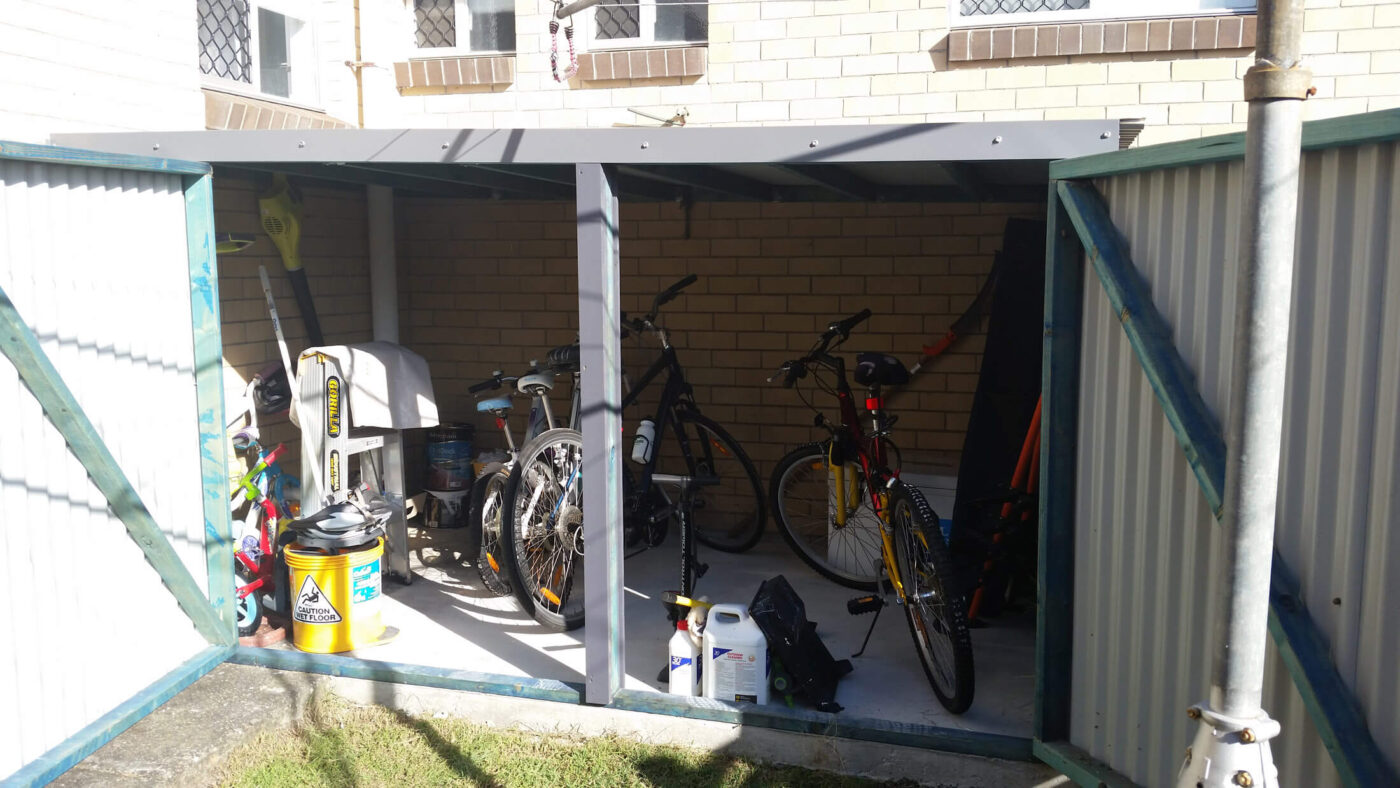 Outdoor Storage For bike