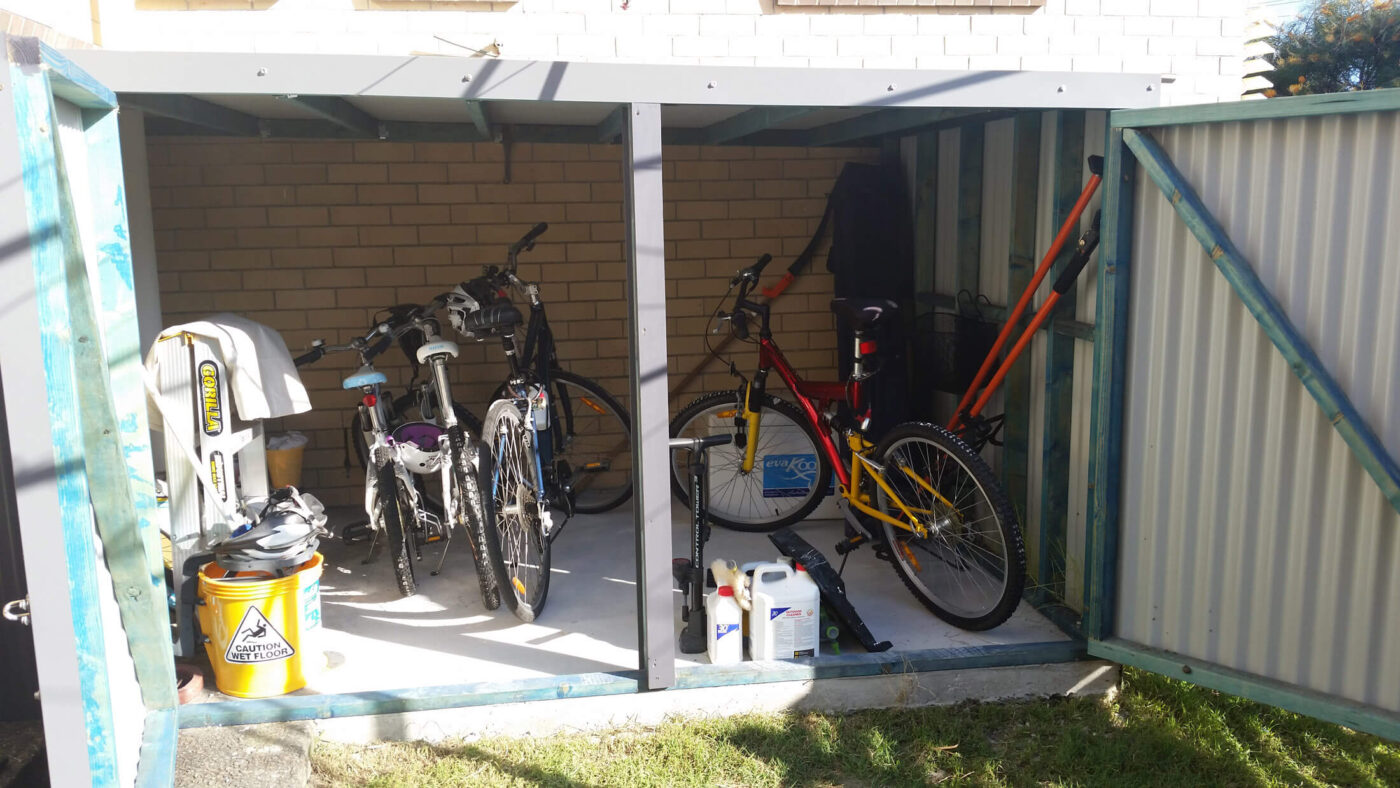 Outdoor Cycle Storage Cages